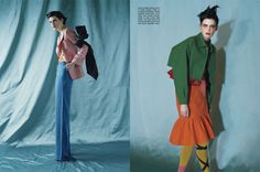Vogue Italy - May 2011 editorial: color blocks model: Stella Tennant photographer: Tim Walker Fashion Story, Fashion Art, Stella Tennant, Style Pantry, Tim Walker, Color Inspiration, Color Blocking, Editorial Fashion, Fashion Photography