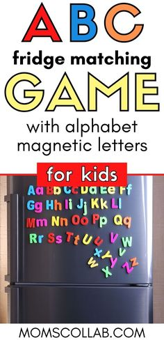 Teach your kids the ABCs with the best educational kids activities for toddler preschool! I'm grabbing this 5-day FREE ABC learning challenge. It's the perfect start for tackling the alphabet and having FUN doing it. ABC games for kids, educational games for kids, learning activities for toddlers. For kindergarten ABC magnet activities. #kidsactivities #toddlerpreschool #educational #learningactivity #abcgame Abc Games For Kids, Activity Games For Kids, Activities For 2 Year Olds, Creative Activities For Kids, Educational Activities For Kids, Indoor Activities For Kids, Toddler Activities, Learning Activities, Abc Learning