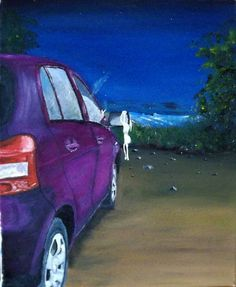 Lovers Lane Oil on Canvas  10 X 12