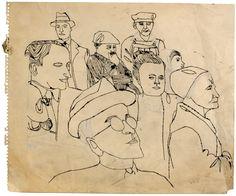 Andy-Warhol-+James+Dean+Look-Alike+2,++1957,+primeiros+desenhos.jpg 1,600×1,330 ピクセル