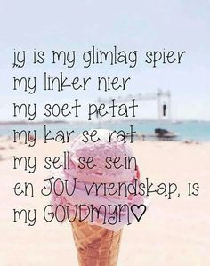 Liefde is alles wat jy nie kan begeer of verduidelik nie net soos my liefde vir jou . Xmas Quotes, Sign Quotes, Cute Quotes, Family Quotes, Afrikaanse Quotes, Goeie Nag, Qoutes About Love, Love Yourself Quotes, True Friends