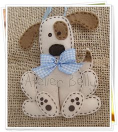 Cute dog...add a collar to open and close