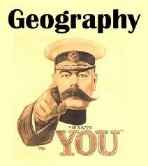 Geography wants You! Iam so putting this up in my classroom.