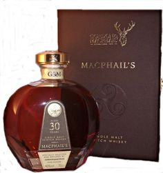 Matured in the finest sherry casks, this greatly aged single malt whisky has developed sweet ripe fruit aromas with hints of melon and grape...