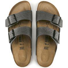 1f4fad730f53 Arizona Birko-Flor Pull Up Anthracite Birkenstock Sandals, Birkenstock  Arizona, Fashion Trends,