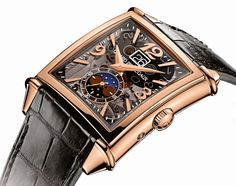Girard-Perregaux Vintage 1945 Large Date, Moon-Phases in pink gold   Time and Watches