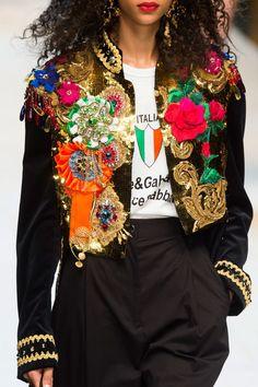 "sofiazchoice: ""Dolce & Gabbana at Milan Spring 2017 """
