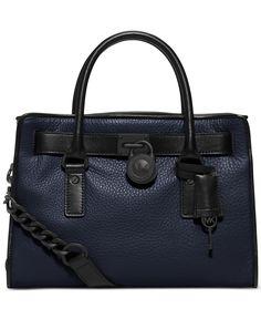 MICHAEL Michael Kors Hamilton French Binding Satchel - Michael Kors Hamilton Collection - Handbags & Accessories - Macy's