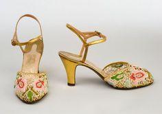 Shoes, Ferragamo, c. 1930.