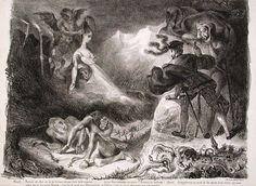 Arte a las ocho: L'ombre de Marguerite apparaissant à Faust (La som...
