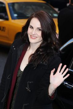 michelle dockery pictures | Michelle Dockery - Michelle Dockery Visits 'Letterman'