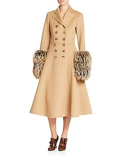 Michael Kors Collection Double-Face Wool