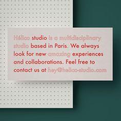 Hélico studio branding on Behance Web Design, Layout Design, Print Layout, Logo Design, Design Cars, Corporate Design, Stationery Design, Graphic Design Typography, Brochure Design