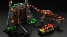 Jurassic Park LEGO Set Petition | The Mary Sue