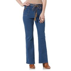 Metaphor Womens Jeans and Tie Sailor Medium Wash Denim sizes 2, 14 NEW 19.99 http://www.ebay.com/itm/-/262716794191?