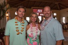 Partiers support Youth Guidance at lulu of a luau - w/photos