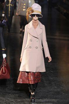 Louis Vuitton RTW Fall 2012.   Coat = just beautiful