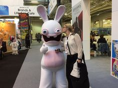 Kisses for the Rabbids!