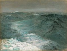 "John Singer Sargent ~ ""Mid Ocean, Mid Winter"""