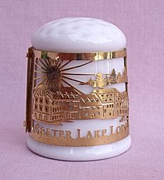 CRATER LAKE LODGE WIZARD ISLAND OREGON THIMBLE