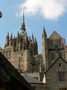 Mont Saint-Michel - Manche, Normandie, France.