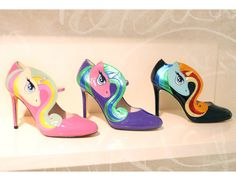 Minna Parikka_My Little Pony Only Shoes, Kinds Of Shoes, Marimekko, Pumps, Heels, My Little Pony, Me Too Shoes, Christian Louboutin, Designers