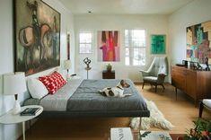 Mid-Century Modern Bedroom-26-1 Kindesign