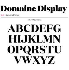 Domaine Display | Village Klim