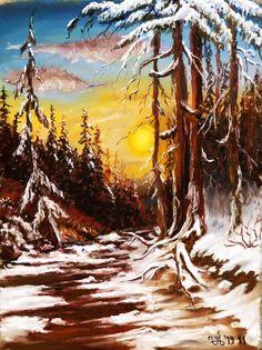 Tájkép. Mentorprogramunk Elit csoportos tagja festette Mentor Program, Eve Online, Marvel, Mountains, Nature, Painting, Naturaleza, Painting Art, Paintings