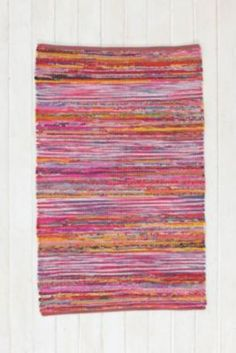 Magical Thinking Ikat Stripe Handmade Rug