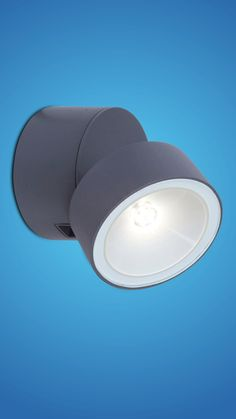 LED Außen Beleuchtung Wand Strahler Kugel Stahl verzinkt IP44 Fassade Leuchte