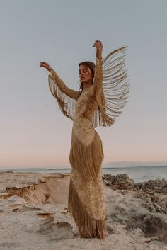 Fleetwood of London's Wedding Dress Collection for The Free Spirited Bride Gold Wedding Dress Western Wedding Dresses, Bohemian Wedding Dresses, Boho Bride, Wedding Gowns, Gold Wedding Dresses, Wedding Shot, Wedding Music, Fall Wedding, Wedding Reception