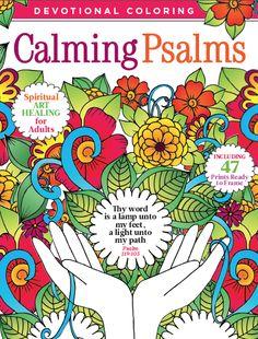 Devotional Coloring Calming Psalms