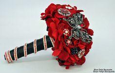 Crystal Butterfly by Blue Petyl Bouquets #wedding #bouquet