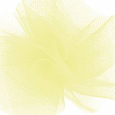 This wide nylon tulle comes in a 25 yard roll. It is stiff enough to hold its shape, but soft enough to still be delicate. Great for gift package bows and crafts. Also perfect for display & special event or wedding decor. Tulle Rolls, Special Events, Wedding Decorations, Delicate, Shapes, Display, Yellow, Crafts, Floor Space