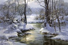 painting by charles vickery - Google Search
