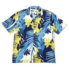 akaroa hawaiian aloha rayon shirt