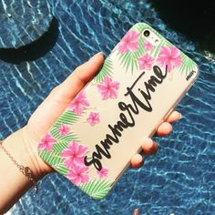 Soaking in California sun with summer time phone case, sending love from Milkywaycases <3 #milkywaycases #phonecase #summer