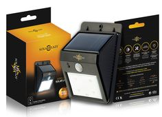 Amazon.com : SolarBlaze Bright Solar Powered Outdoor LED Light - No Tools Peel…