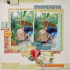 Creatively Savvy: January My Creative Scrapbook kit part three