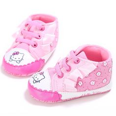 fb293435 2017 Cute Pink Baby Girl Fashion Sneakers Soft Baby Shoes prewalkers-in  First Walkers from Mother & Kids on Aliexpress.com | Alibaba Group