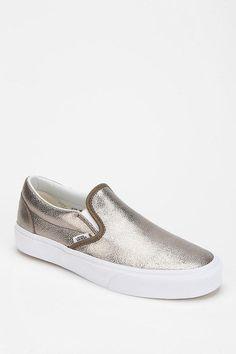Vans Metallic Women's Slip-On Sneaker #urbanoutfitters