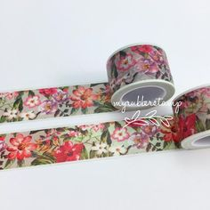 Tropical Floral Washi Tape