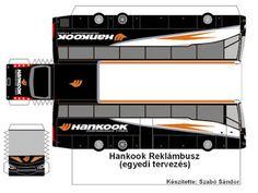 J. Ossorio Papercraft: Papercraft recortable de un autobus de Hankook Harley Davidson V Rod, Papercraft Anime, Cars 1, Origami, Racing Team, Paper Models, Scale Models, Paper Crafts, Jumping Jacks