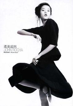 John Rocha SS08 in Vogue China February 2008 #press #editorial #fashion