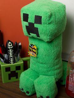 J!NX : Minecraft Creeper Plush Toy with Sound