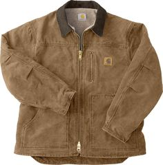Carhartt coats are for hardworking men! This Carhartt coat is made of cotton sandstone duck with plied yarns. Carhartt Coats, Carhartt Jacket, Mode Masculine, Moda Vintage, Look Chic, Looks Cool, Aesthetic Clothes, Ugly Sweater, Fashion Outfits