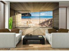 Best Home Gym Design Bedrooms Ideas Design Living Room Wallpaper, Living Room Designs, Nature Beach, All Nature, Photo Wallpaper, Nature Wallpaper, Wall Wallpaper, Photo Ciel, Ikea Built In