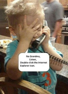 The younger generations are growing up with the technologies making them the experts. At times they know more than the older generations. I do not feel this is right. When the kids are young they should know more about technology than the older generations.