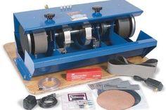 A grinder/sander/polisher for smaller stones.